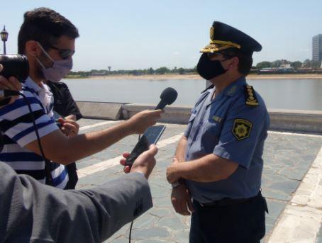 Ariel Zancochia Subjefe de Policía de la Provincia